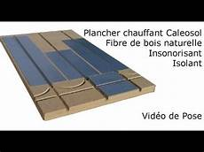 Plancher Chauffant Sec Mince Caleosol Eco Isolant Fibre