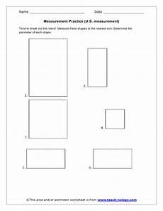 measurement perimeter worksheets 1573 measurement practice u s measurement