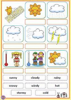 what s the weather like cut and paste activity