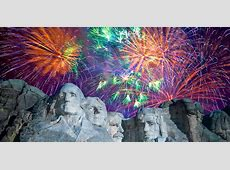 mount rushmore fireworks show