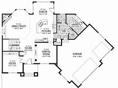 house plans angled garage prairie style house plan with angled garage 14410rk