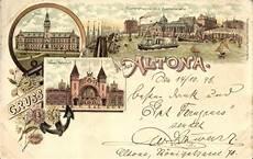 litho hamburg altona fischereihafen und auktionshalle