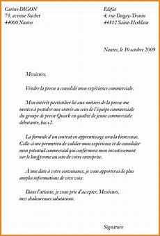 lettre de motivation pour un apprentissage exemple cv pour apprentissage roger bontemps