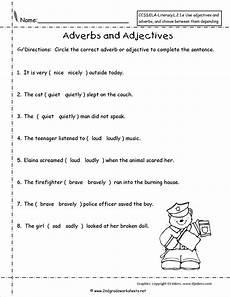 adjective worksheet for 6th grade printable worksheets and activities for teachers parents