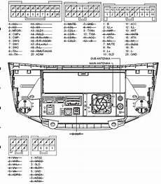 lexus rx300 rx330 rx350 2006 2008 p3500 head unit pinout diagram pinoutguide com