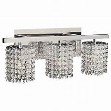 plc lighting 72194 pc polished chrome three light crystal bathroom vanity light fixture from the