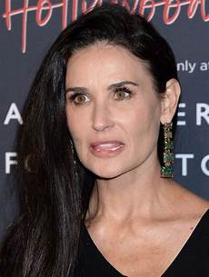 demi moore at vanity fair hollywood calling opening in