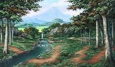 Gambar Pemandangan Alam Di Desa Yang Indah Kumpulan