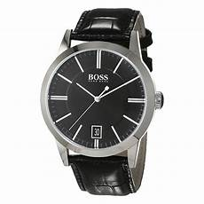 boss uhren herren schwarz hugo 1513129 herren business uhr dresswatch schwarz