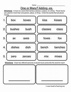 plural nouns have fun teaching