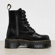 dr martens jadon black polished smooth boot onygo