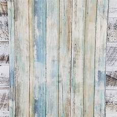 tapete holzoptik verwittert blue distressed barnwood plank wood peel and stick