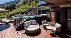 dachterrasse mit pool pr 228 sidenten suite mit pool whirlpool und sauna auf