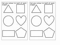 halving shapes worksheet eyfs 1106 amywarner09 s shop teaching resources tes