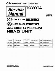 free download parts manuals 2004 lexus gs user handbook pioneer lexus is350 is250 fx mg9107 mg9607 crt3511 service manual download schematics eeprom