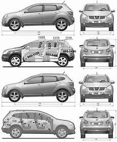 Nissan Qashqai Dimensions The Blueprints Cars Nissan