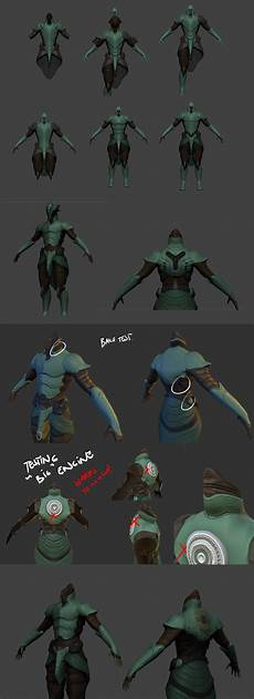 warframe blender models a very rough wip of how a warframe skin is made figured some people find this intresting