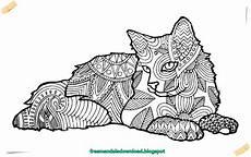 Kostenlose Ausmalbilder Mandala Tiere Katzen Mandala Kostenlos Ebook Cats Mandala Free Ebook