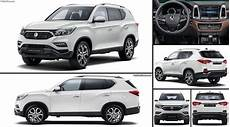 ssangyong rexton 2018 pictures information specs