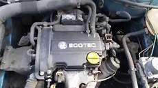vauxhall corsa c 1 0 petrol z10xep engine running