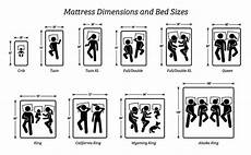 bed size chart dimensions recommendations more