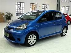 Toyota Aygo Blau