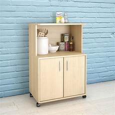 Kitchen Cart Maple by Maple Kitchen Cart With Storage Cabinet 599 The