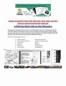 online auto repair manual 2003 dodge durango windshield wipe control dodge durango 1998 1999 2000 2001 2002 2003 factory service repair wo