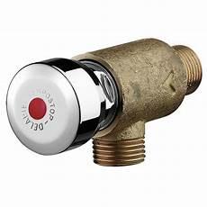 robinet poussoir pour robinet temporis 233 mural 233 querre brut tempostop avec