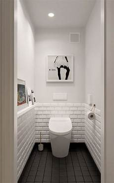 a midcentury inspired apartment with scandinavian tendencies small toilet room small white
