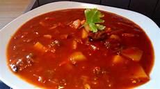 Rezept Für Gulaschsuppe - ungarische scharfe gulaschsuppe rezepte chefkoch de