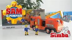sam le pompier le camion deluxe jupiter avec lance 224 eau