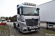 mercedes actros mp4 to fit mercedes actros mp4 polished steel grill light bar