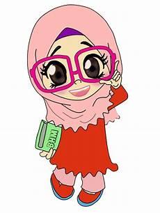 31 Gambar Kartun Muslim Png