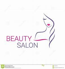 beautiful vector logo template for hair salon stock vector illustration of badges