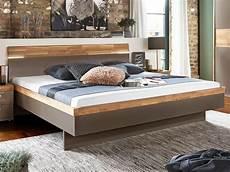 Arte M Feel Doppelbett Bett Schwebesockel Kopfteil Cubanit