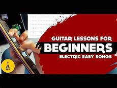 Must Electric Guitar Songs Riffs Easy