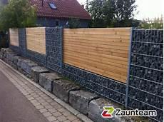 Zaun Und Tor Referenzen Zaunteam Gabionen 73557