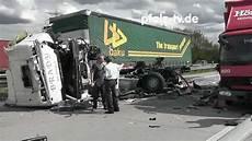 Schwerer Lkw Unfall A6 Abfahrt Schwetzingen Unfall Mit