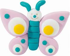 Fimo Form Play Modellier Set Butterfly 7 Teilig Bei