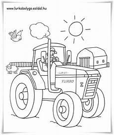 ausmalbilder kleiner roter traktor ausmalbilder kleiner
