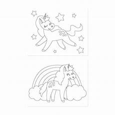 Malvorlagen Unicorn Versi Unicorn Coloring Pages Simple Everyday