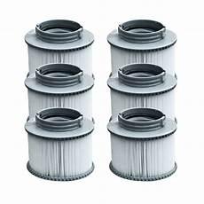 filtre pour spa gonflable lot de 6 filtres pour spa gonflable happy garden