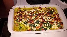 Kartoffel Spinat Auflauf - kartoffel spinat auflauf mit feta und cashewkernen