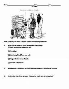 u s imperialism political cartoon worksheet by set s
