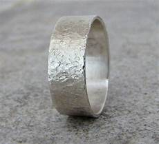 distressed wedding band rustic wedding ring mens wedding bands