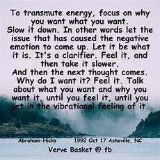 to transmute energy focus on why you want what you want