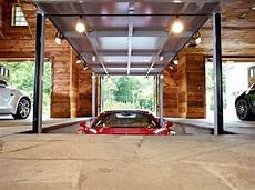 Car Elevator Garage by Luxury Home Garage With Car Elevator In Connecticut