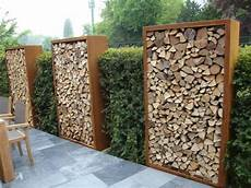 Holz Stapeln Ideen - what a way to store firewood beautiful brennholzregal