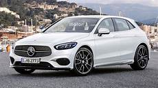2018 Mercedes A Class Render Proposes Stylish Design
